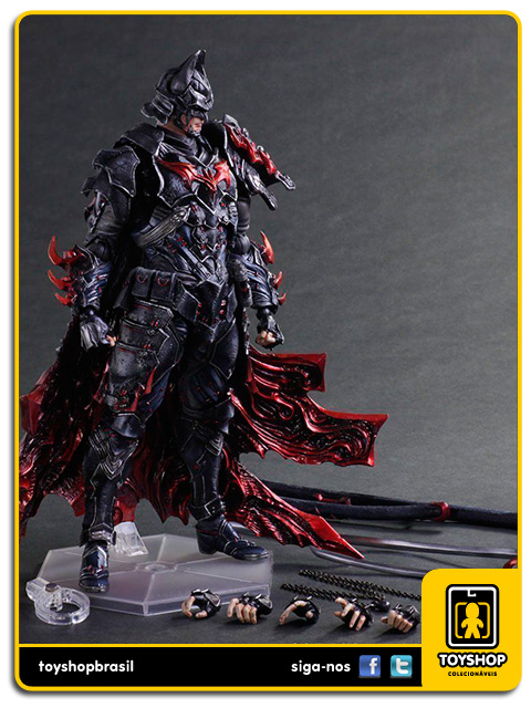 Play Arts DC Comics: Batman Timeless Bushido Variant - Square Enix
