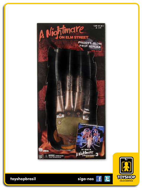 A Nightmare on Elm Street Part 3: Freddy  Glove Prop Replica - Neca