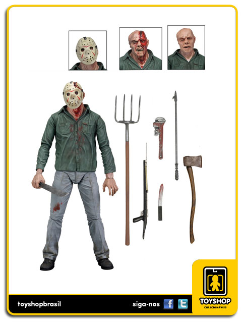 Friday The 13th Part 3 Ultimate Jason  Neca