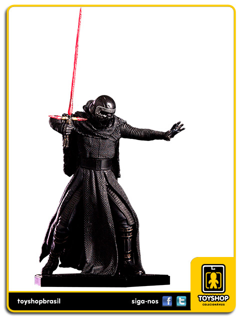 Star Wars The Force Awakens: Kylo Ren Art Scale 1/10 - Iron Studios