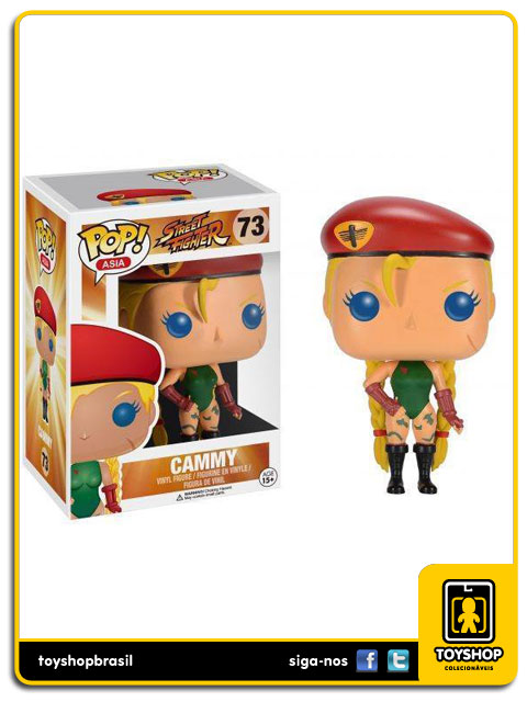 Street Fighter: Cammy Pop - Funko