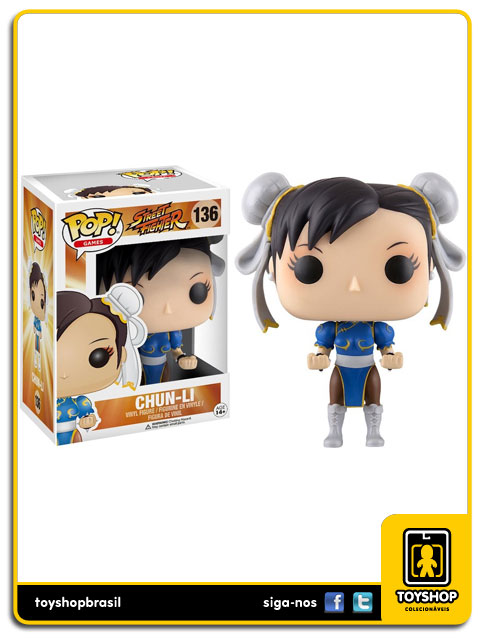 Street Fighter: Chun-Li Pop - Funko