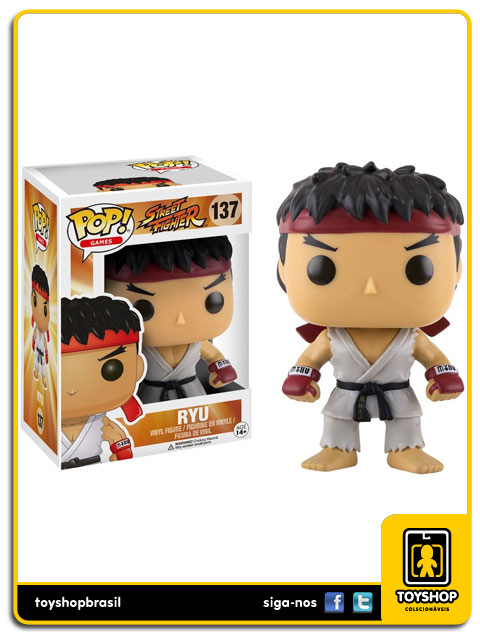 Street Fighter: Ryu Pop - Funko