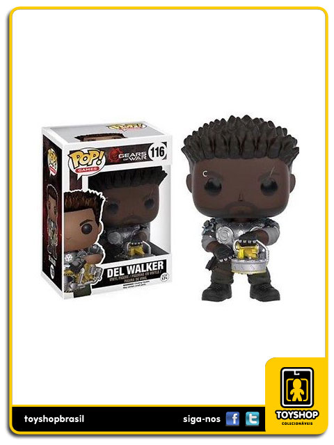 Gears of War: Del Walker Pop - Funko