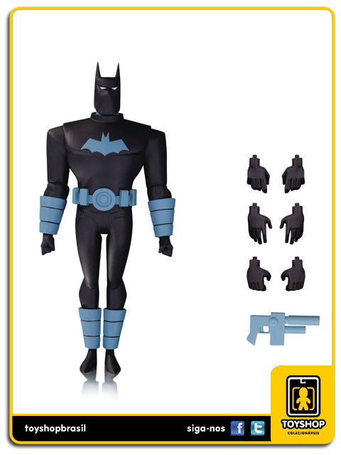 Batman The Animated Series: Anti-Fire Suit Batman - Dc Collectibles