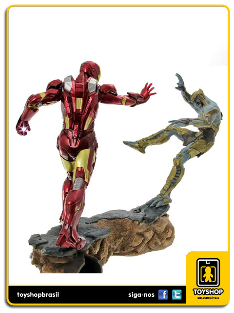 The Avengers: Diorama Iron Man Mark VII 1/6 - Iron Studios