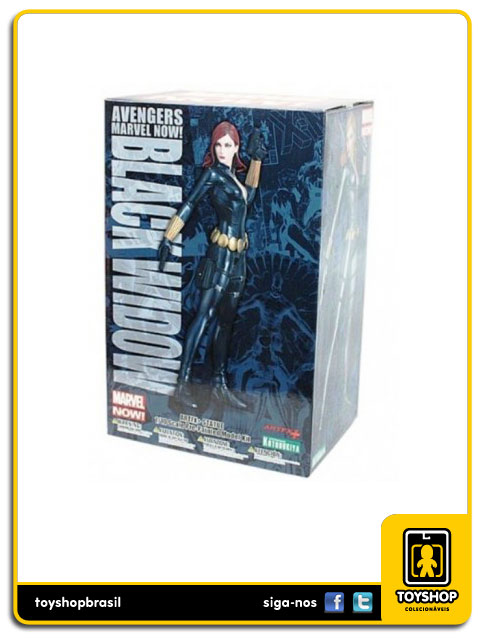 Marvel Now Avengers: Black Widow 1/10 Artfx - Kotobukiya