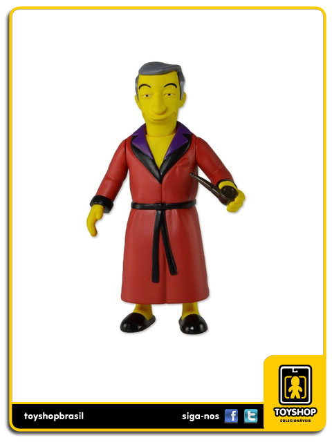 The Simpsons 25th Anniversary: Hugh Hefner - Neca