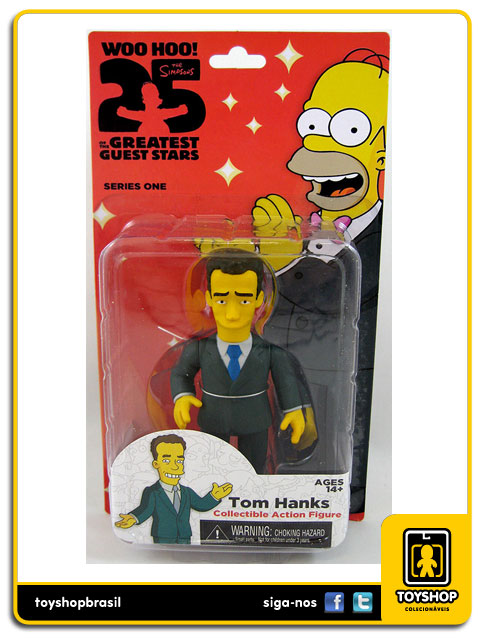 The Simpsons 25th Anniversary: Tom Hanks - Neca