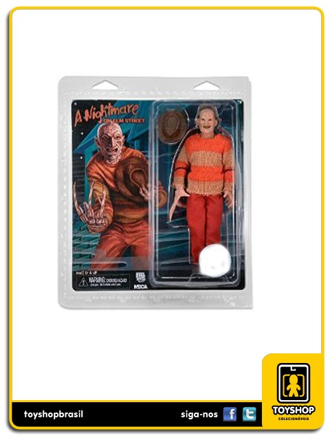 A Nightmare on Elm Street Clothed Freddy Krueger Video Game  Neca