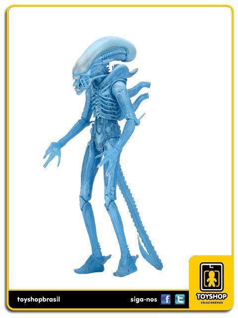 Aliens Series 11 Alien Xenomorph Warrior Blue Neca