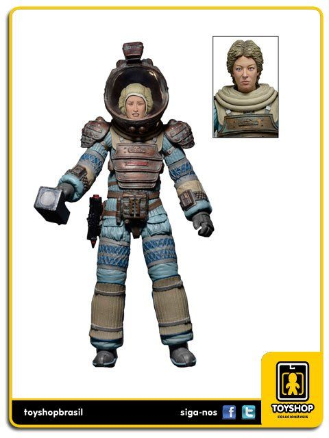 Aliens Series 11 Joan Lambert Compression Suit Neca