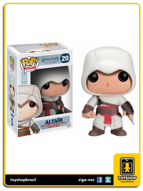 Assassin´s Creed Altair 20 Pop - Funko