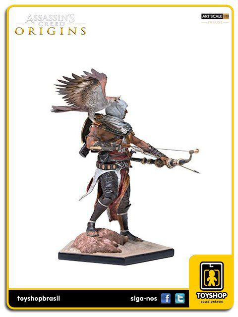 Assassins Creed Origins Bayek 1/10 Art Scale Deluxe Iron Studios