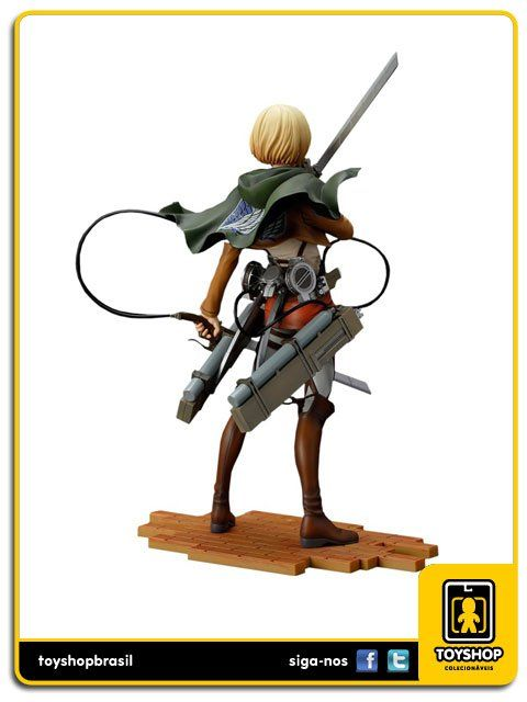 Attack On Titan Armin Arlert 1/8 Brave-act Sentinel