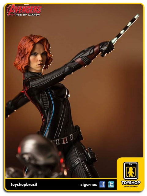 Avengers Age of Ultron Black Widow Diorama 1/6  Iron Studios