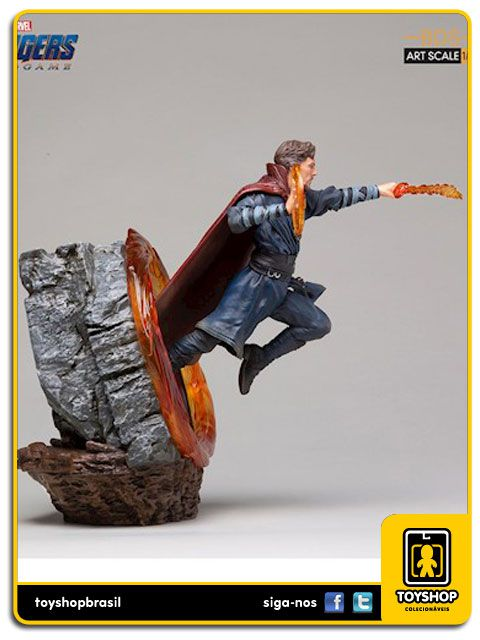 Avengers Endgame Estátua Doctor Strange Art Scale 1/10 Iron Studios