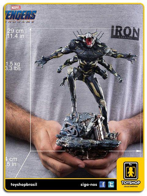 Avengers Endgame Estátua General Outrider Art Scale 1/10 Iron Studios