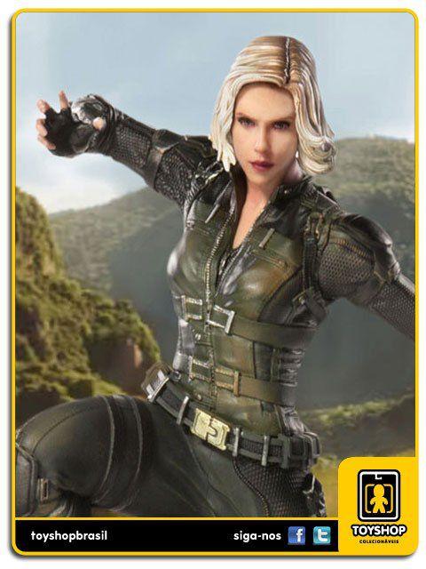 Avengers Infinity War Estátua Black Widow Art Scale 1/10  Iron Studios