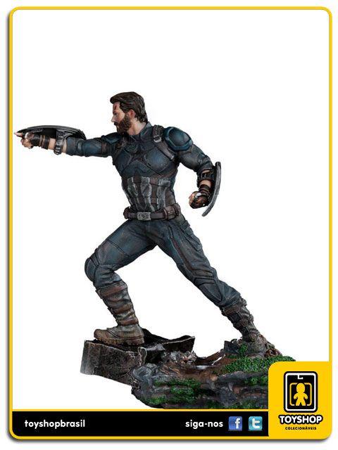 Avengers Infinity War Estátua Captain America Art Scale 1/10 Iron Studios