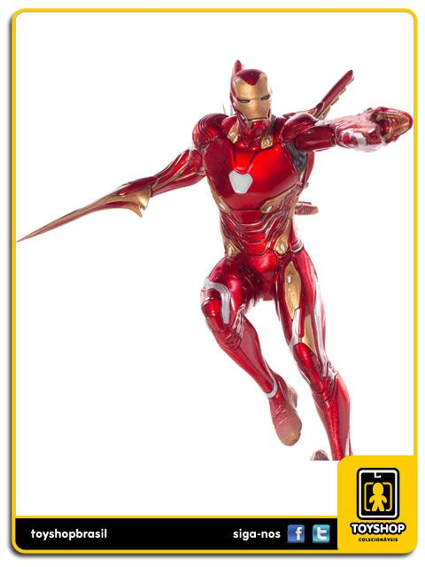 Avengers Infinity War Estátua Iron Man Mark L BDS Art Scale 1/10 Iron Studios