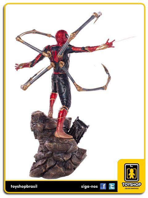 Avengers Infinity War Estátua Iron Spider BDS Art Scale 1/10 Iron Studios