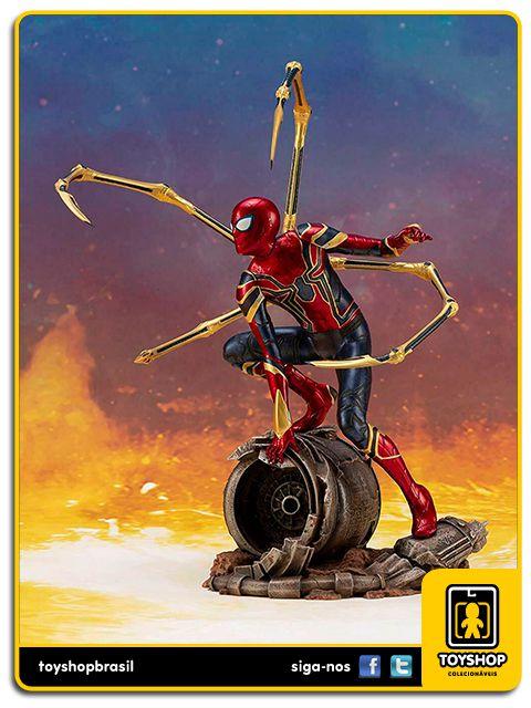 Avengers Infinity War Estátua Iron Spider-Man Artfx+ Kotobukiya