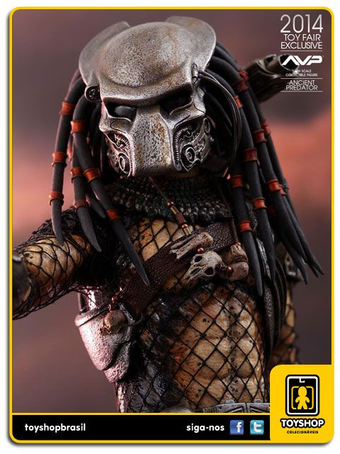 AVP Alien vs Predator Ancient Predator Exclusivo  Hot Toys