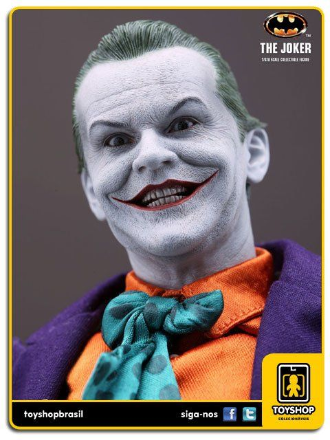 Batman 1989: The Joker Jack Nicholson DX 08 Hot Toys