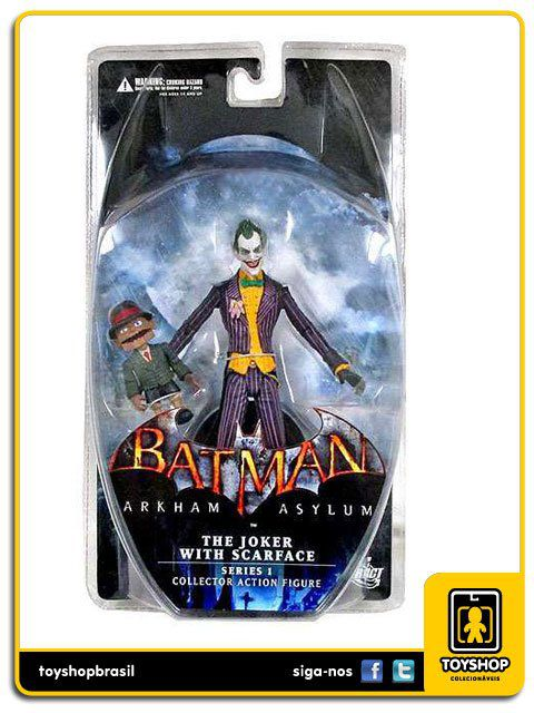 Batman Arkham Asylum serie 1 The Joker with Scarface Dc Collectibles