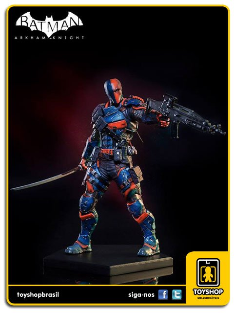Batman Arkham Knight Deathstroke  1/10 Art Scale Iron Studios