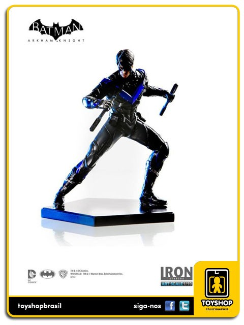 Batman Arkham Knight Nightwing 1/10 Art Scale Iron Studios