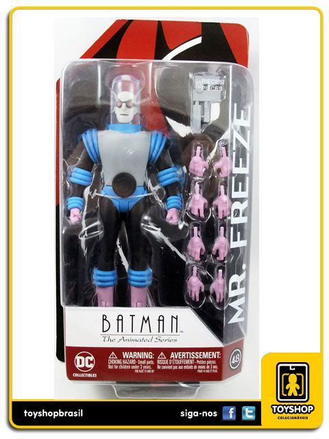 Batman The Animated Series: Mr. Freeze - Dc Collectibles