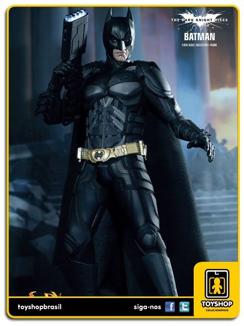 Batman The Dark Knight Rises: Batman DX 12 - Hot Toys