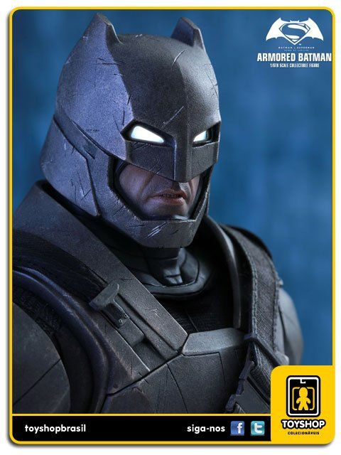Batman v Superman Dawn of Justice Batman Armored  Hot Toys