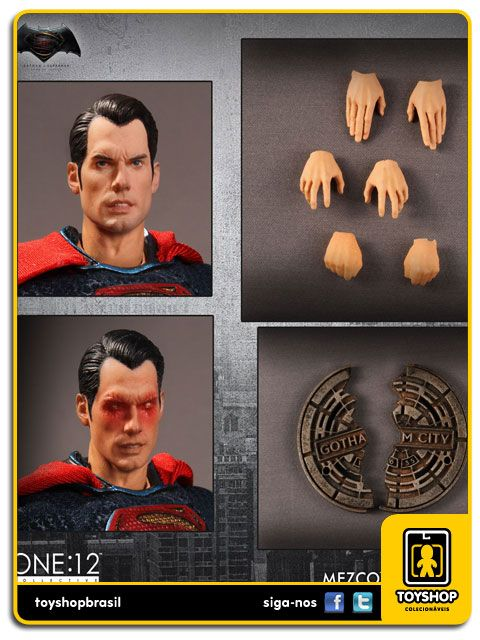 Batman V Superman Dawn of Justice Superman  One 12 Mezco