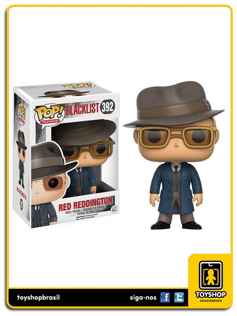 Blacklist Red Reddington 392 Pop  Funko