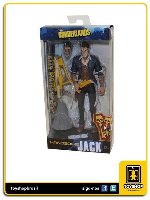 Borderlands Handsome Jack Color Tops Mcfarlane Toys