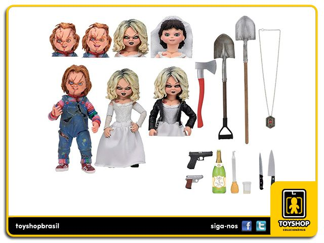 Bride of Chucky Ultimate Chucky & Tiffany 2-Pack Neca