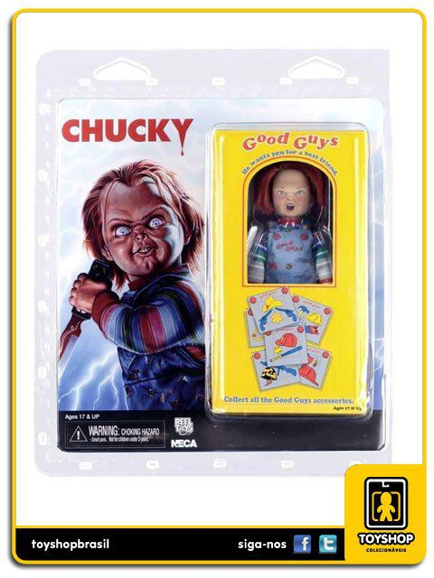 Brinquedo Assassino Chucky Clothed Figure Neca