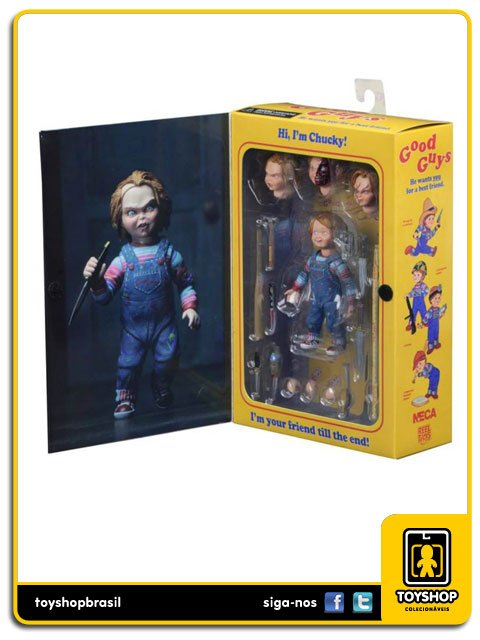 Brinquedo Assassino  Ultimate  Chucky Neca