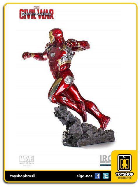 Captain America Civil War Iron Man Mark XLVI Legacy 1/4 - Iron Studios
