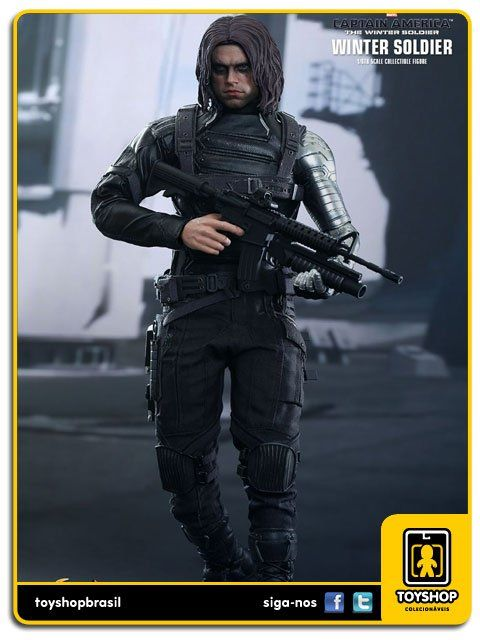 Captain America The Winter Soldier: Winter Soldier - Hot Toys