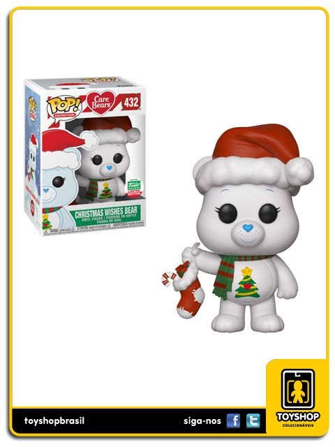 Care Bears Christmas Wishes bear Exclusivo 432 Pop Funko