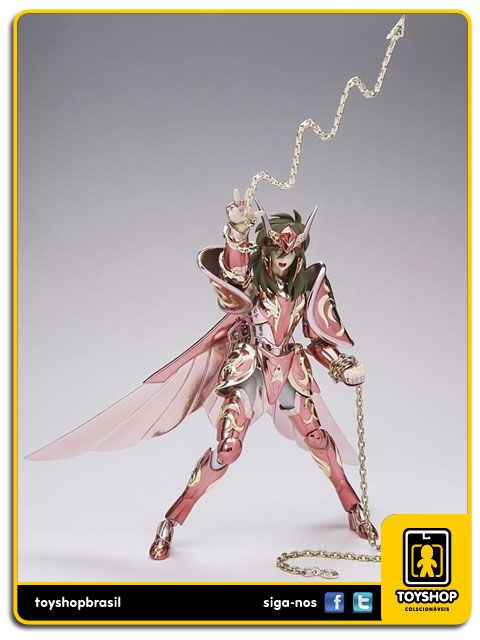 Cavaleiros do Zodíaco 10th Anniversary Andromeda Shun  V4 God  Cloth Myth