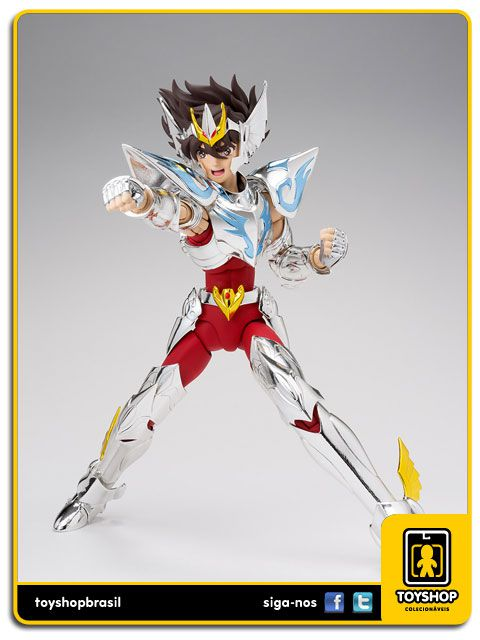 Cavaleiros do Zodíaco 15th Anniversary Edition: Seiya de Pegasus - Cloth Myth