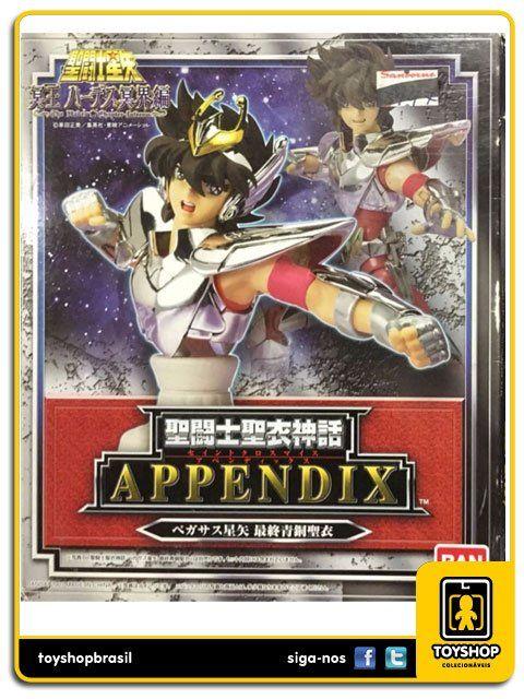 Cavaleiros do Zodíaco Saint Cloth Myth Appendix Pegasus Seiya Bandai
