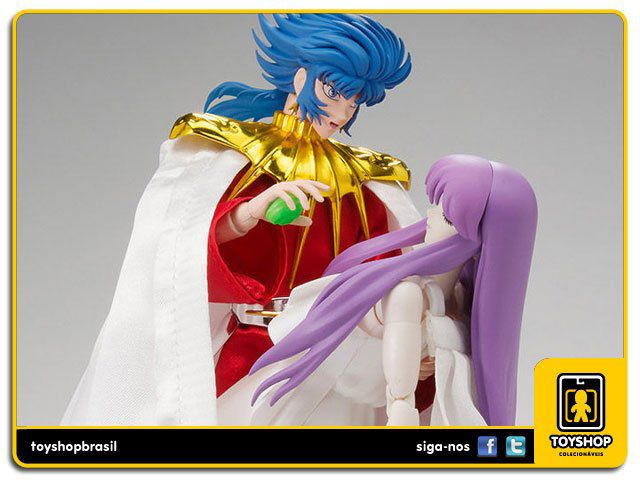 Cavaleiros do Zodíaco Saint Seiya Sun God Abel & Athena Memorial  Set Cloth Myth