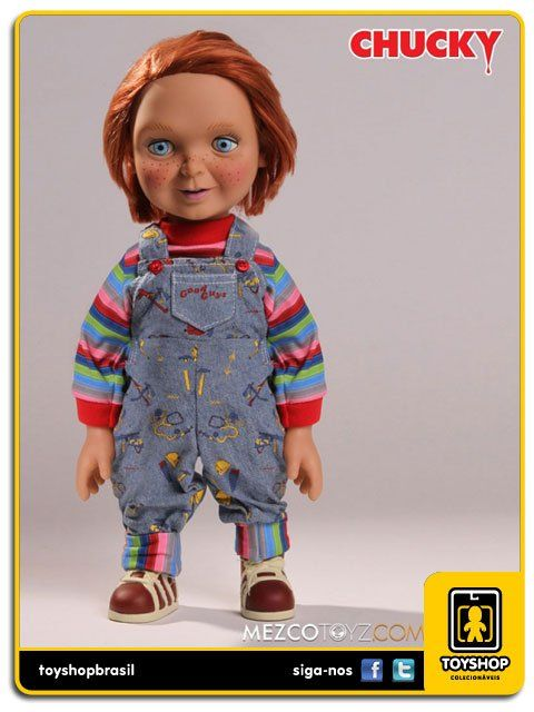 Child´s Play 2: Talking Good Guys Chucky 38 Cm Com Sons - Mezco