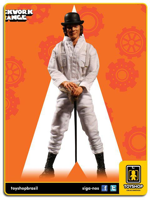 Clockwork Orange Alex DeLarge One 12 Mezco
